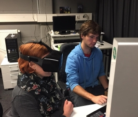 Niklas and Tamara PLATYPUS VR